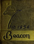 Suffolk University Beacon yearbook, 1954
