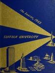 Suffolk University Beacon yearbook, 1963