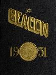 Suffolk University Beacon yearbook, 1951