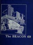 Suffolk University Beacon yearbook, 1969