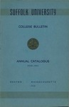 Suffolk University Academic Catalog, College Departments, 1950-1951