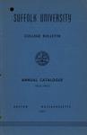 Suffolk University Academic Catalog, College Departments, 1952-1953