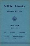 Suffolk University Academic Catalog, College Departments, 1957-1958