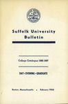 Suffolk University Academic Catalog, College Departments, 1966-1967