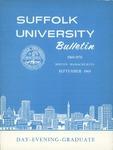 Suffolk University Academic Catalog, College Departments, 1969-1970