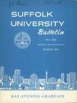 Suffolk University Academic Catalog, College Departments, 1967-1968