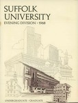 Suffolk University Academic Catalog, College Departments-evening division, Fall 1968