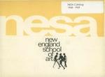 Suffolk University Academic Catalog, New England School of Art (NESA), 1968-1969