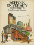 Suffolk University Academic Catalog, College Departments, 1970-1971