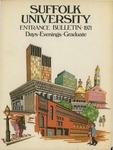 Suffolk University Academic Catalog, College Departments--entrance bulletin, 1971