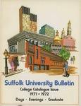 Suffolk University Academic Catalog, College Departments, 1971-1972