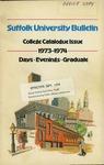 Suffolk University Academic Catalog, College Departments, 1973-1974