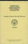 Suffolk University Academic Catalog, College Departments--supplement, 1979-1980
