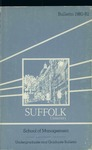 Suffolk University Academic Catalog, College of Business Administration, 1980-1982