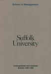 Suffolk University Academic Catalog, School of Management, 1984-1985