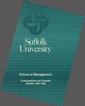 Suffolk University Academic Catalog, School of Management, 1985-1986