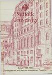 Suffolk University Academic Catalog, School of Management, 1988-1990