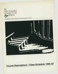 Suffolk University Academic Catalog, New England School of Art and Design (NESAD)--Course Descriptions and Class Schedules, 1986-1987