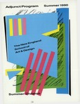 Suffolk University Academic Catalog, New England School of Art and Design (NESAD)--Summer adjunct program, 1990