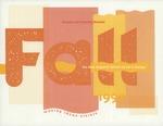 Suffolk University Academic Catalog, New England School of Art and Design (NESAD)--Fall evening and Saturday adjunct program, 1992 by New England School of Art and Design