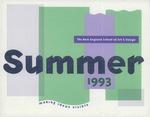 Suffolk University Academic Catalog, New England School of Art and Design (NESAD)--Summer adjunct program, 1993 by New England School of Art and Design