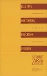 Suffolk University Academic Catalog, New England School of Art and Design (NESAD)--Fall continuing education programs, 1994