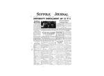 Newspaper- Suffolk Journal Vol. 12, No. 1, 10/1955