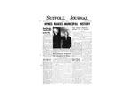 Newspaper- Suffolk Journal Vol. 12, No. 2, 11/1955