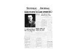 Newspaper- Suffolk Journal Vol. 13, No. 2, 11/1956
