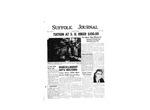 Newspaper- Suffolk Journal Vol. 14, No. 1, 10/1957