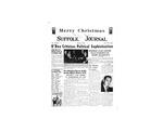 Newspaper- Suffolk Journal Vol. 14, No. 3, 12/1957