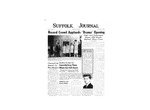 Newspaper- Suffolk Journal Vol. 14, No. 4, 1/1958