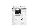 Newspaper- Suffolk Journal Vol. 14, No. 5, 2/1958