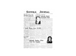 Newspaper- Suffolk Journal Vol. 14, No. 8, 5/1958