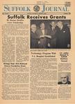 Newspaper- Suffolk Journal Vol. 23, No. 4, 1/1968 by Suffolk Journal