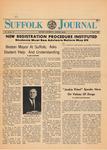 Newspaper- Suffolk Journal Vol. 23, No. 10, 5/7/1968 by Suffolk Journal