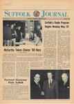 Newspaper- Suffolk Journal Vol. 23, No. 11, 5/15/1968