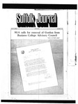Newspaper- Suffolk Journal Vol. 27, No. 1, 9/15/1971