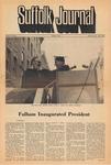 Newspaper- Suffolk Journal Vol. 27, No. 2, 10/14/1971