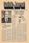 Newspaper- Suffolk Journal Vol. 30, No. 5, 11/12/1974 by Suffolk Journal