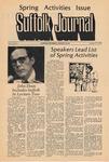 Newspaper- Suffolk Journal Vol. 30, No. 8, 1/27/1975 by Suffolk Journal