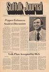 Newspaper- Suffolk Journal Vol. 30, No. 16, 4/07/1975 by Suffolk Journal