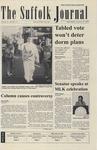 Newspaper- Suffolk Journal Vol. 61, No. 12, 1/16/2002