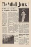 Newspaper- Suffolk Journal Vol. 61, No. 21, 3/27/2002