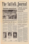 Newspaper- Suffolk Journal Vol. 62, No. 1, 10/30/2003