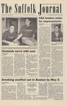 Newspaper- Suffolk Journal Vol. 62, No. 16, 4/16/2003