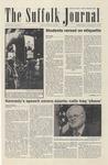 Newspaper- Suffolk Journal Vol. 64, No. 9, 11/05/2003