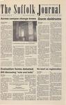 Newspaper- Suffolk Journal Vol. 64, No. 11, 11/19/2003