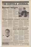 Newspaper- Suffolk Journal Vol. 60, No. 1, 9/13/2000