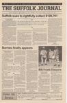 Newspaper- Suffolk Journal Vol. 60, No. 10, 11/29/2000